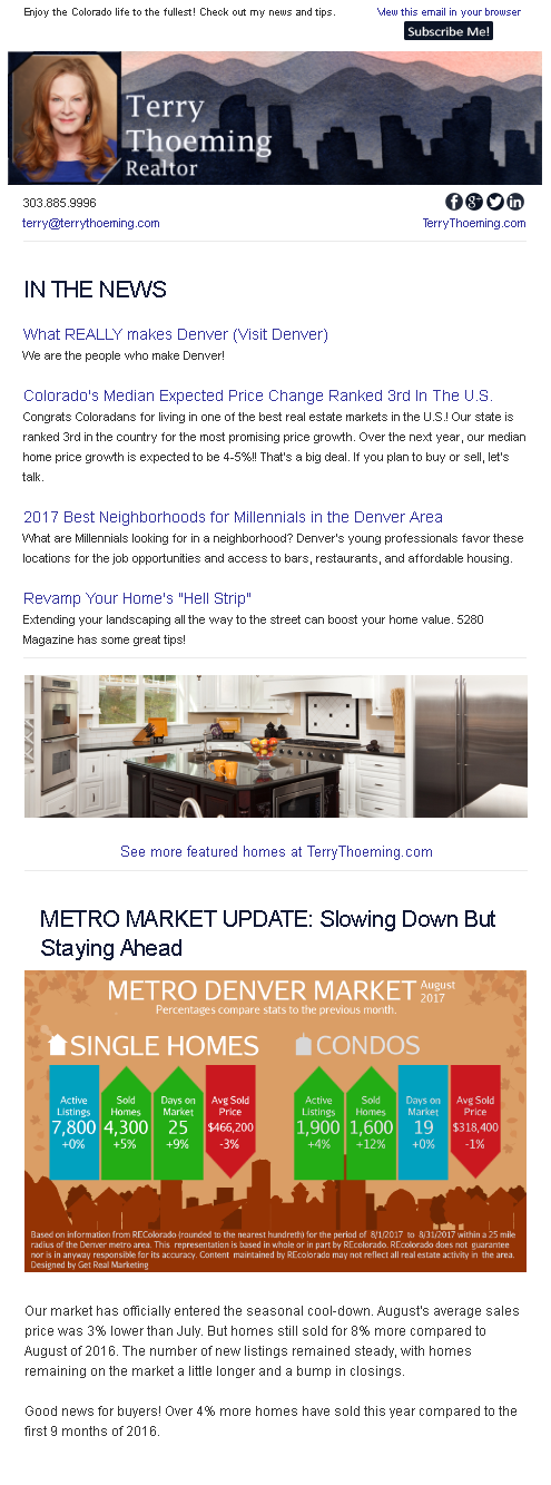 Posted In Blog, Newsletter, Real Estate Advice